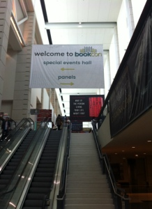 Arriving at BookCon 2016!